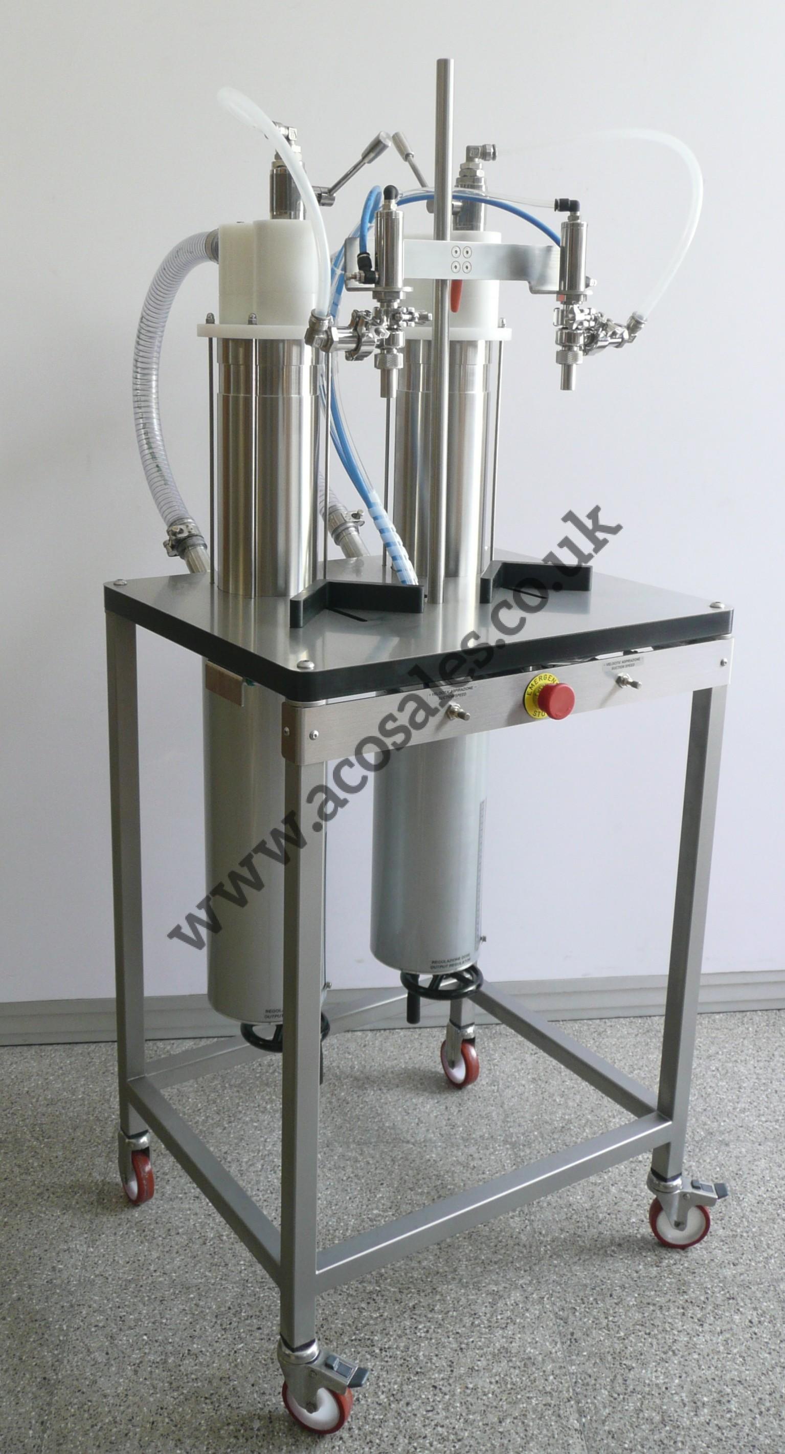 piston filling machine used